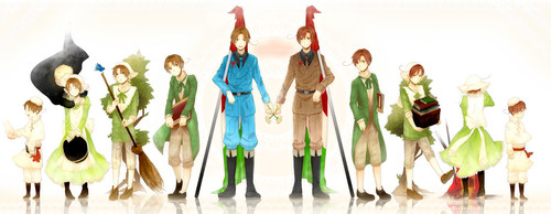 Hetalia Italy karatasi la kupamba ukuta probably with a bouquet and alcohol called Italy Brothers