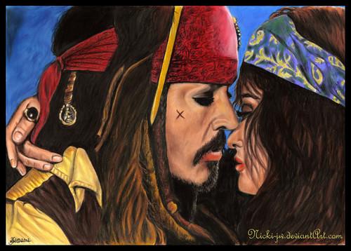 Jack and Angelica - Fan Art