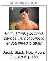 Jacob Black 语录
