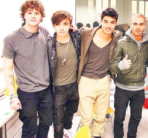 Jay,Nathan,Siva,Max - the-wanted Photo