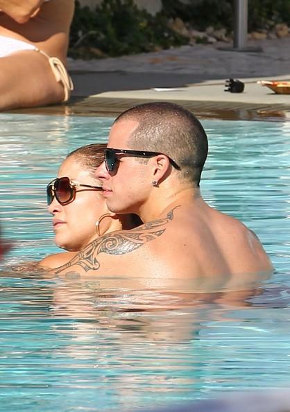 Jennifer Lopez at the Pool [September 1, 2012]