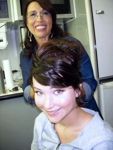 Jennifer becoming Katniss