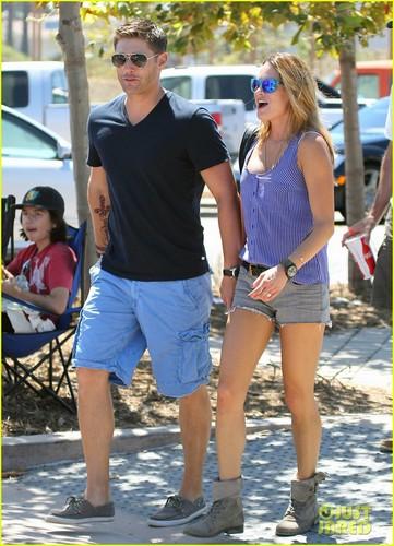 Jensen Ackles Malibu Chili Cook Off with Danneel