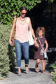 Jessica Alba Takes Honor to the Salon [August 31, 2012] - jessica-alba photo