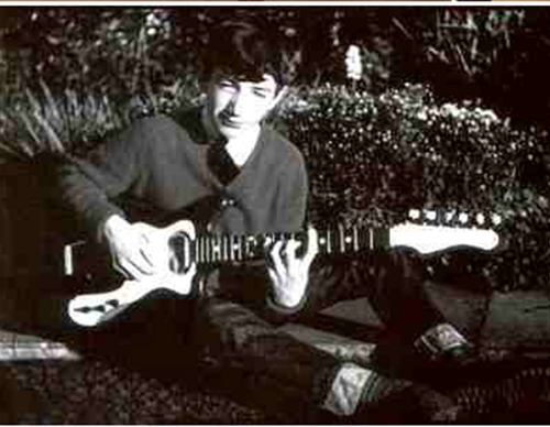 John Deacon very young