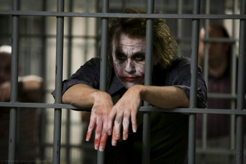 The Joker kertas dinding with a holding cell, a penal institution, and a cell entitled Joker kertas dinding