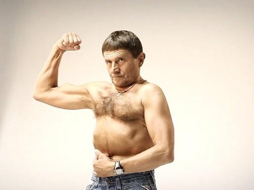 Josef Vana muscles 2012..