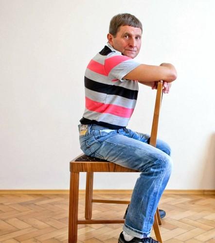 Josef Vana muscular and slim