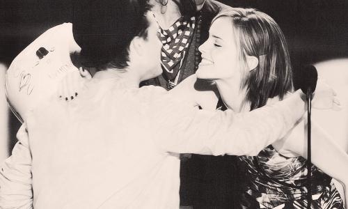 Josh Hutcherson & Emma Watson