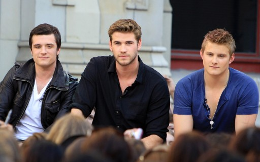 Chris Hemsworth Liam Hemsworth And Josh Hutcherson