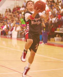 Josh playing sports