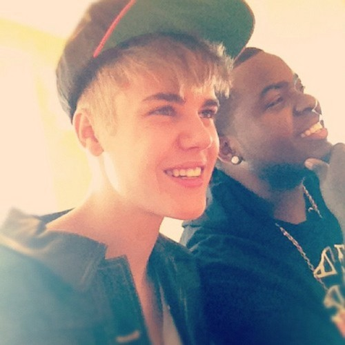 Justin Bieber, Sean Kingston, instagram.2012