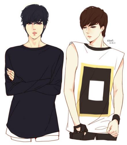 EXO-K wallpaper entitled Kai & Sehun