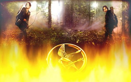 Katniss 壁纸