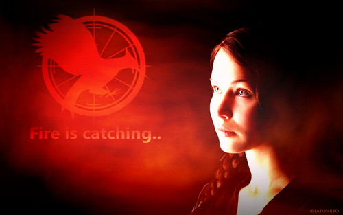 Katniss Everdeen wallpaper probably with a portrait entitled Katniss wallpaper