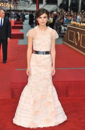 Keira Knightley at the 'Anna Karenina' World Premiere in London (September 4)
