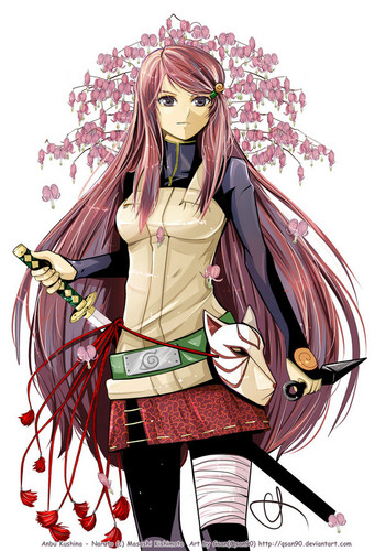 Kushina Uzumaki wallpaper called Kushina