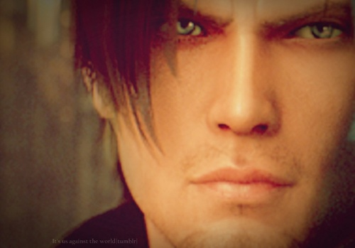 Leon Kennedy 바탕화면 possibly with a portrait entitled LEON ♥