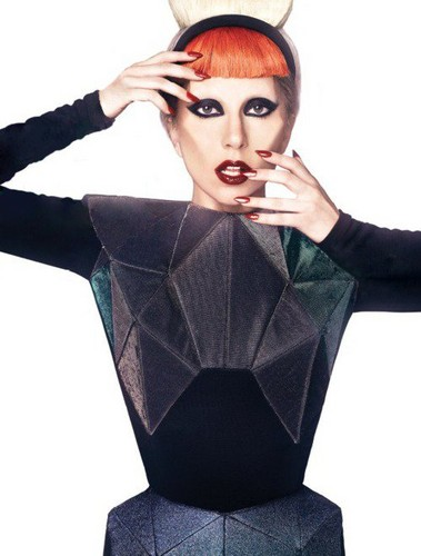 Lady GaGa - Mariano Vivanco Photoshoot 2011 (NEW OUTTAKE PHOTO)
