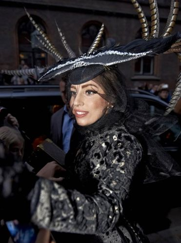Lady Gaga in Copenhagen, Denmark