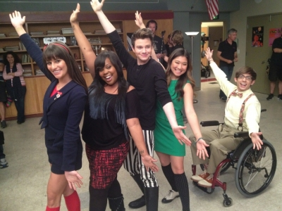 Lea, Jenna, Kevin, Chris & Amber