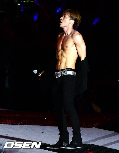 Super junior shirtless gif