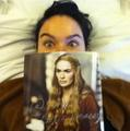 Lena's Twitter Profile Pic - lena-headey photo