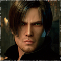 Leon in RE Damnation movie