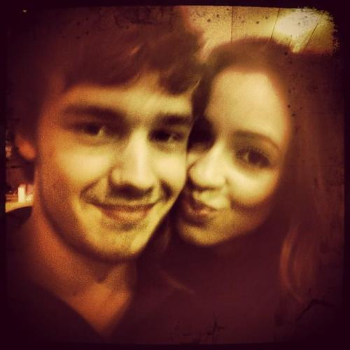Liam Payne and Danielle Peazer