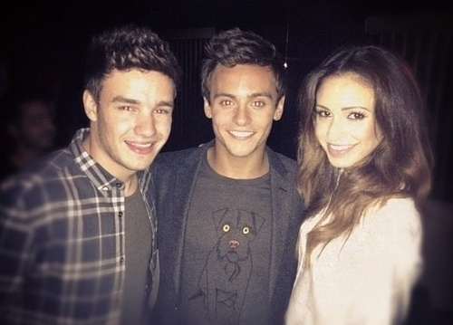 리암 페인 바탕화면 with a portrait called Liam Payne and Danielle Peazer