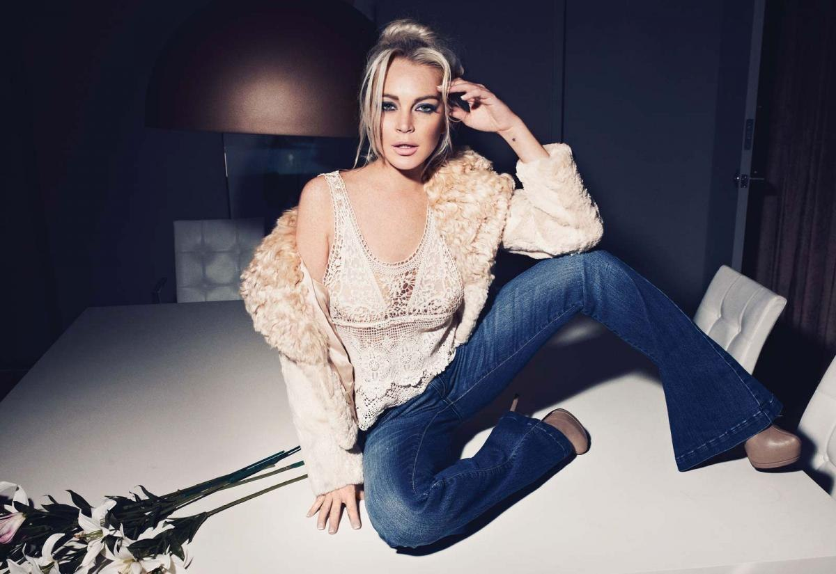 Lindsay Lohan mamada video