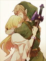 Link and Zelda