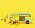 Little Miss Sunshine  - scooby-doo fan art