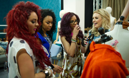 "Little Mix's guest appearance on ""Styled to Rock"" - August 28th 2012."