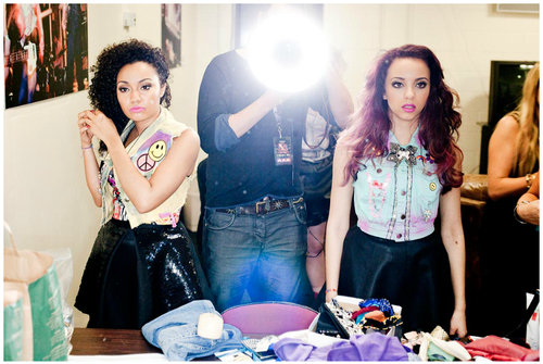 "Little Mix's ছবি for their autobiography ""Ready to Fly""."