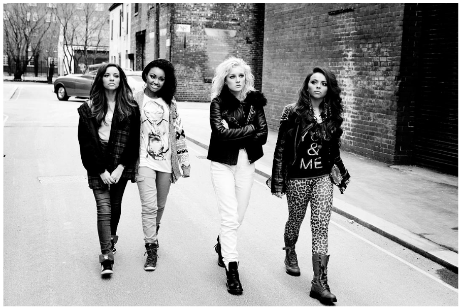 """Little Mix's фото for their autobiography """"Ready to Fly""""."""