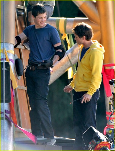Logan Lerman | Percy Jackson 2