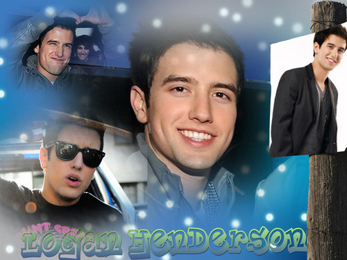 Logan Henderson wallpaper possibly with sunglasses, a business suit, and a portrait titled Logan