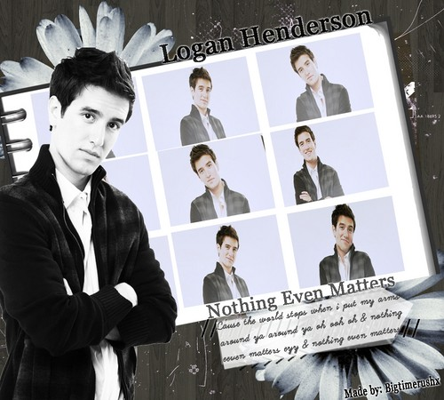 Logan Henderson wallpaper possibly with a business suit and a well dressed person called Logan