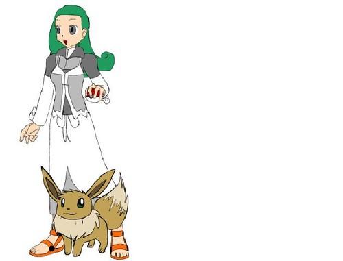Professor Berry and her Evvee