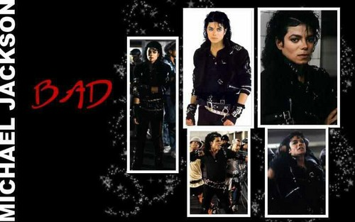 MICHAEL JACKSON BAD ERA WALLPAPER