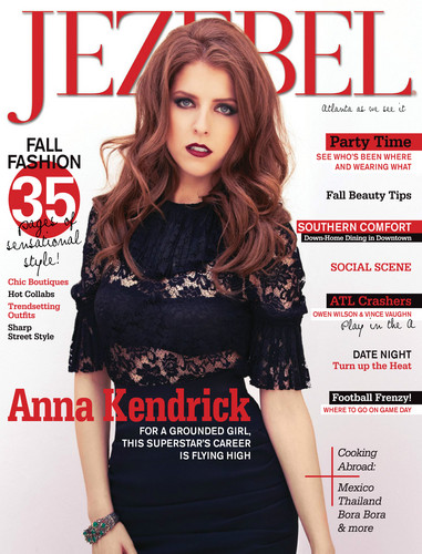 Anna Kendrick Achtergrond Possibly Containing A Portrait Called Magazine Cover