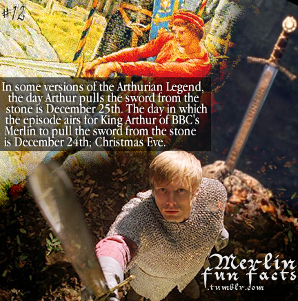 Merlin Fun Facts: Arthur and Excalibur