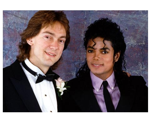 Michael And Good Friend, John Franca