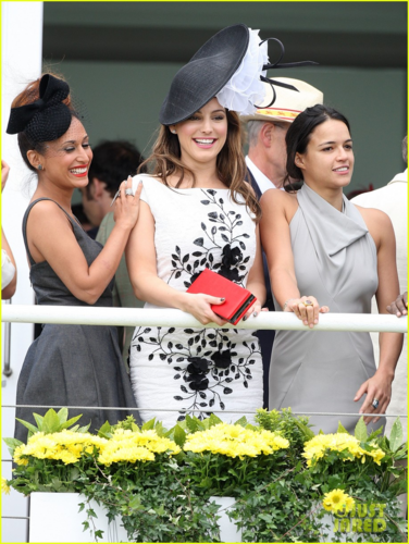 Michelle - ladies día at Glorious Goodwood - August 2, 2012