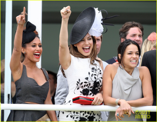 Michelle - ladies day at Glorious Goodwood - August 2, 2012