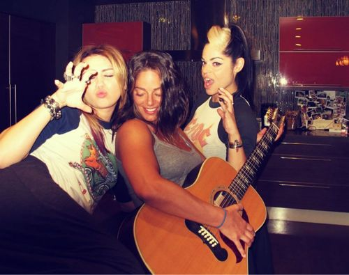 Miley - New Personal Pic.