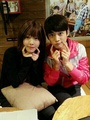 Minho and Sulli! <3