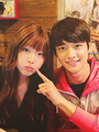 Minho and Sulli! &lt;3 - f-x photo