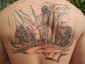 Moses Red Sea - tattoos photo